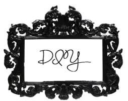 black frame diy