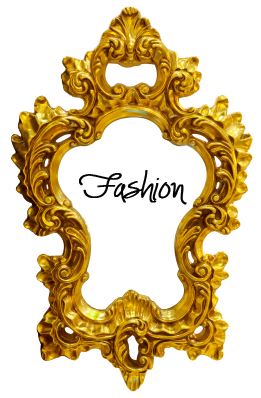 Gold ornate oval frame