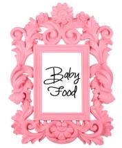 Fancy frame pink
