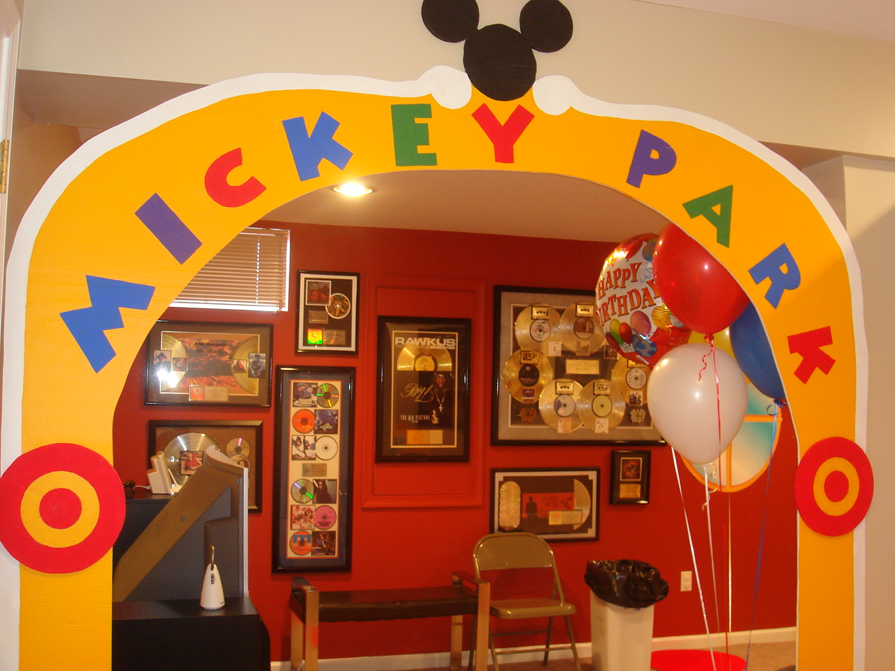 Birthday Party Theme Mickey Mouse Clubhouse Her Life Inspired