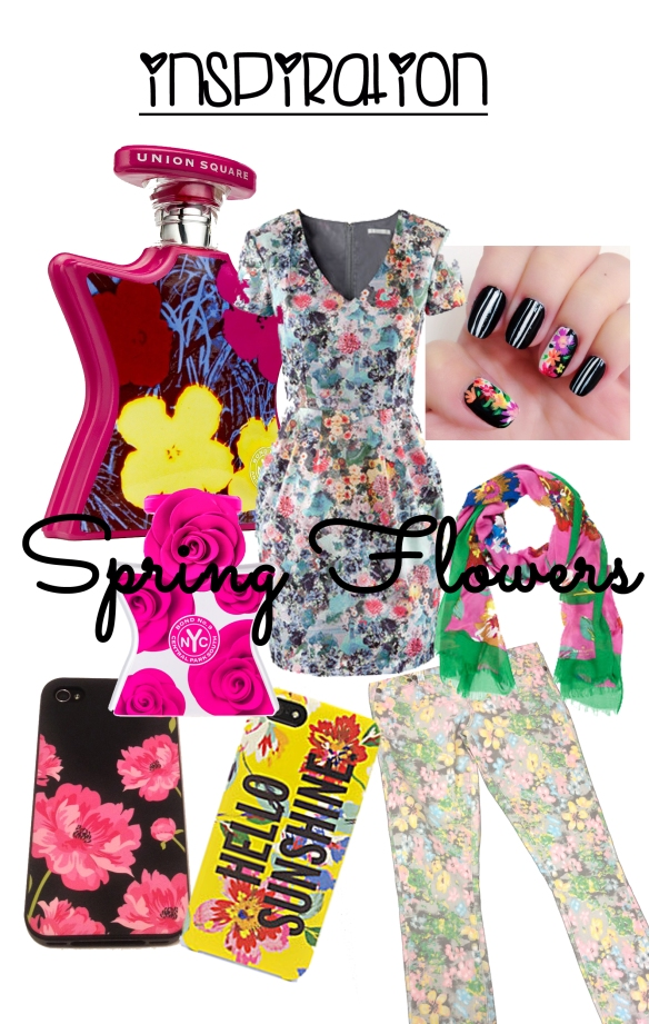 inspiration spring flowers
