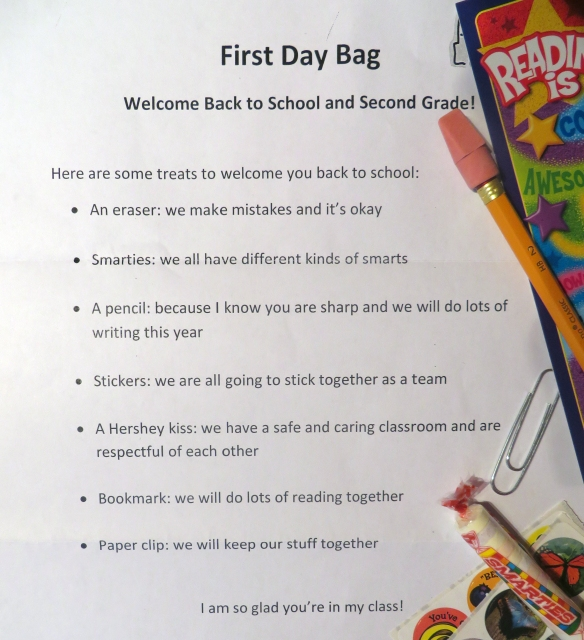 first day bag
