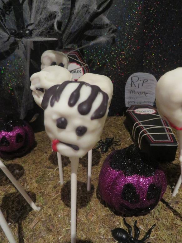 halloween frankenstein cakepop