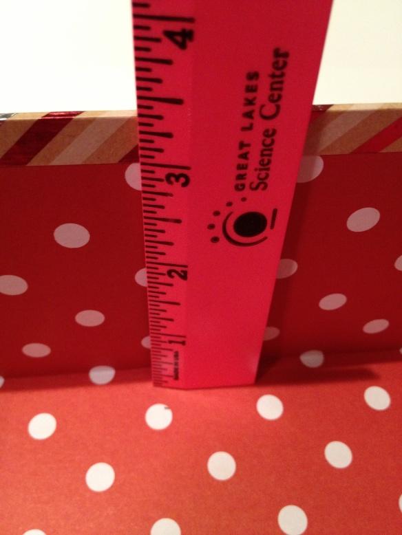 measure gift box