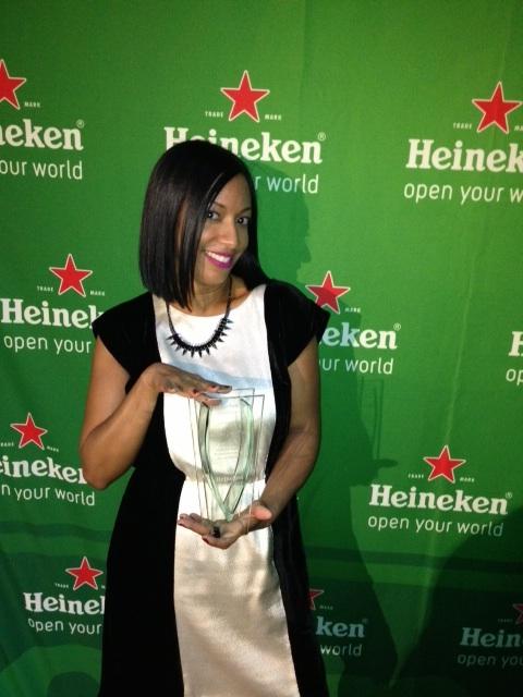 me and my award
