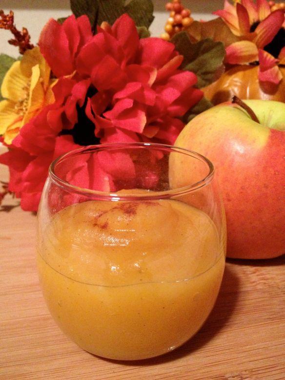 pumpkin spice applesauce