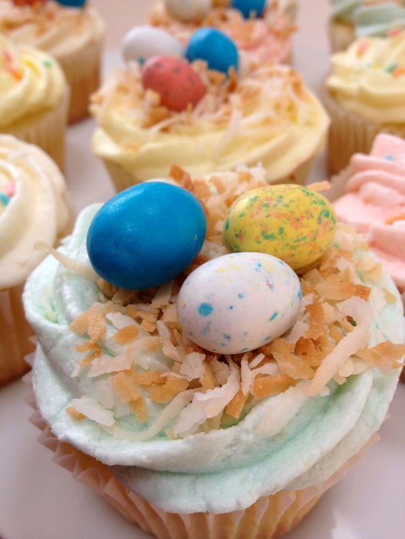 spring cupcakes 1