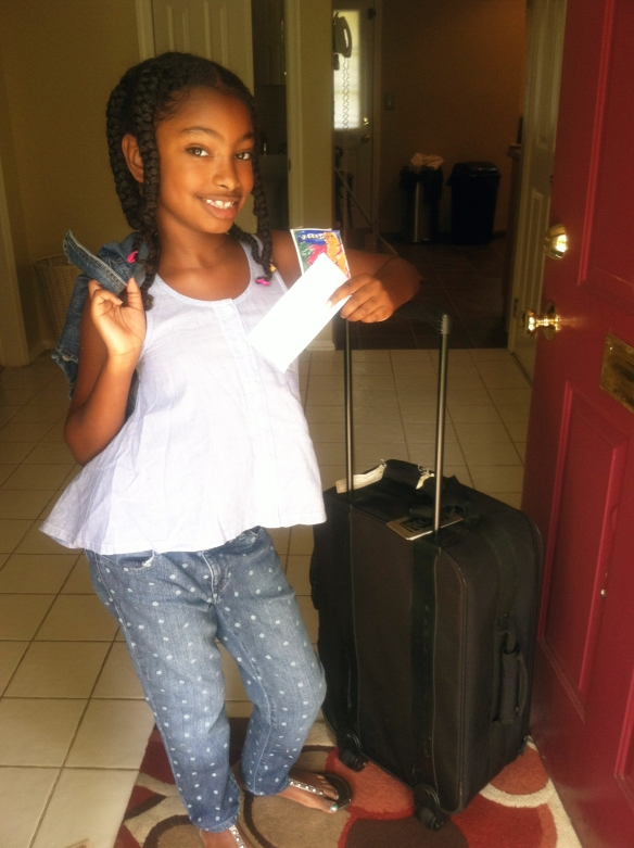 j leaving for trip