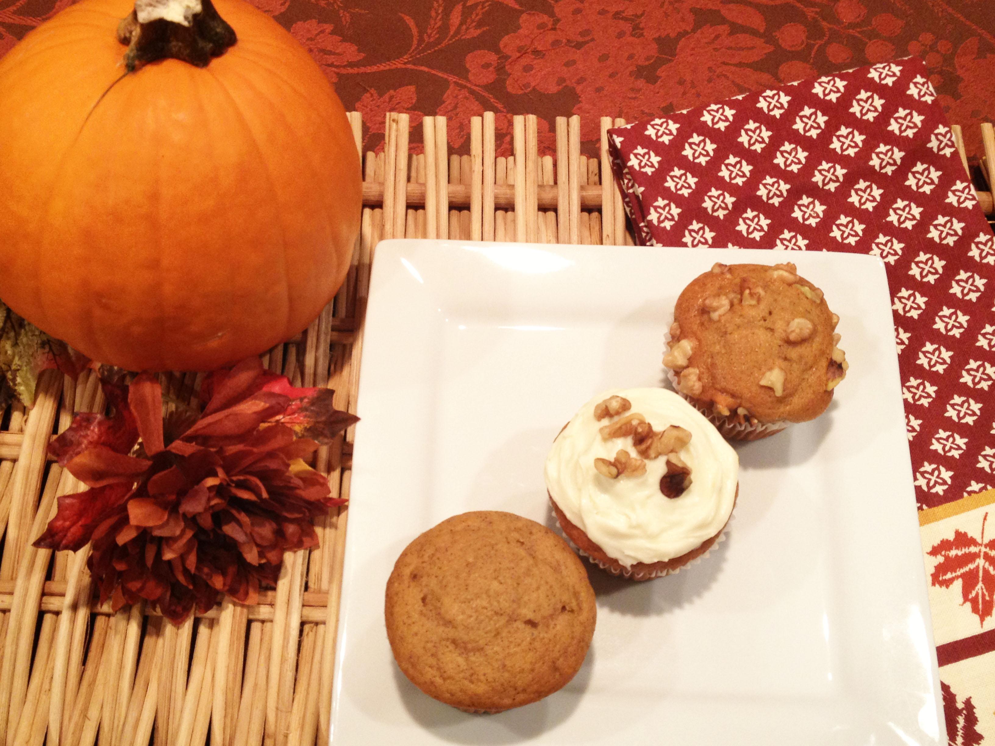 ... & Tell: Honey Pumpkin Muffins W/ Cream Cheese Icing | Life Inspired