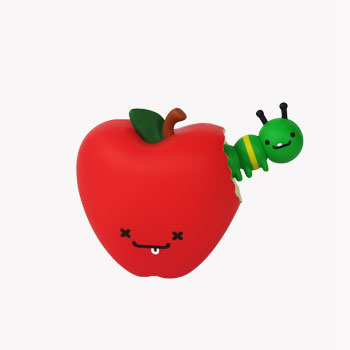 bff apple and catepillar