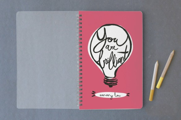 minted brilliant journal