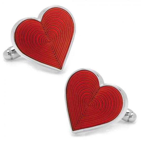 Heart Cuff Links
