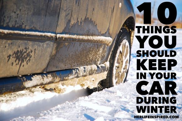 10 Things To Keep In Your Car During Winter