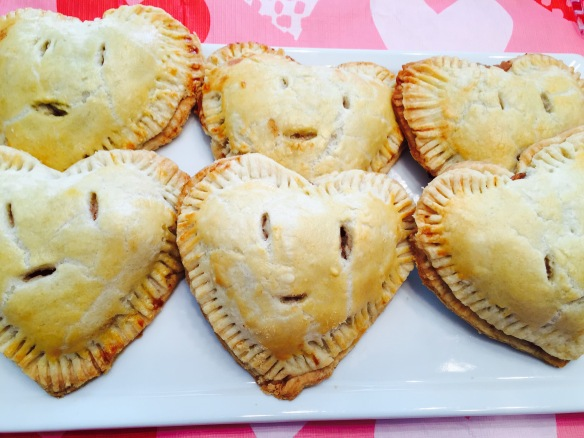 Heart Shaped Apple Pies
