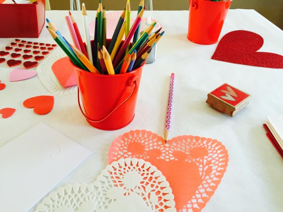 Vday craft table 3