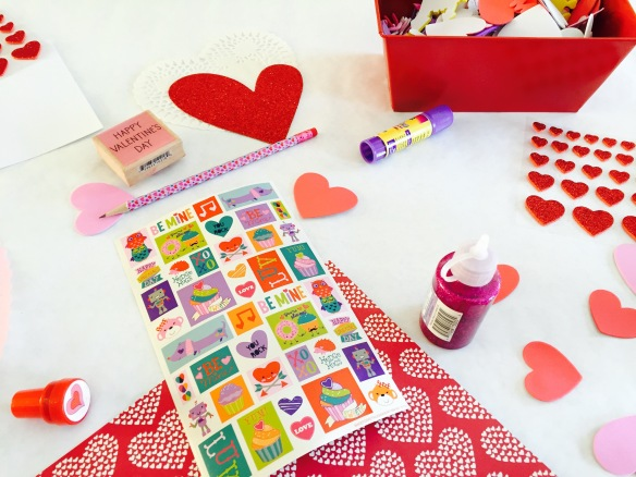 Vday craft table 4