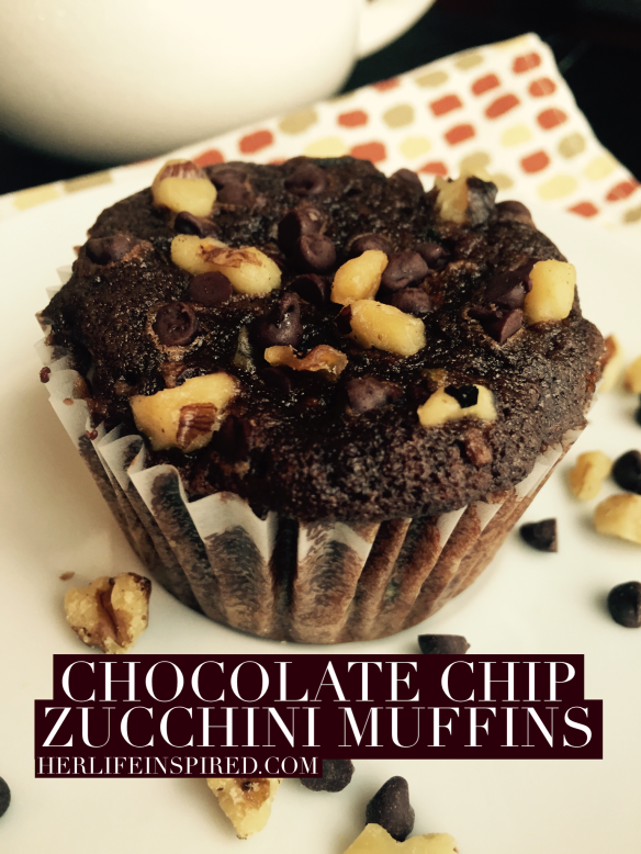 Chocolate Chip Zucchini Muffin Recipe